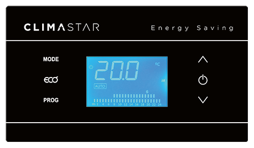 Control Silicium Smart Pro Bathroom Climastar
